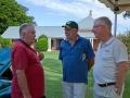 Paul of Ormiston House with Steve & Clive