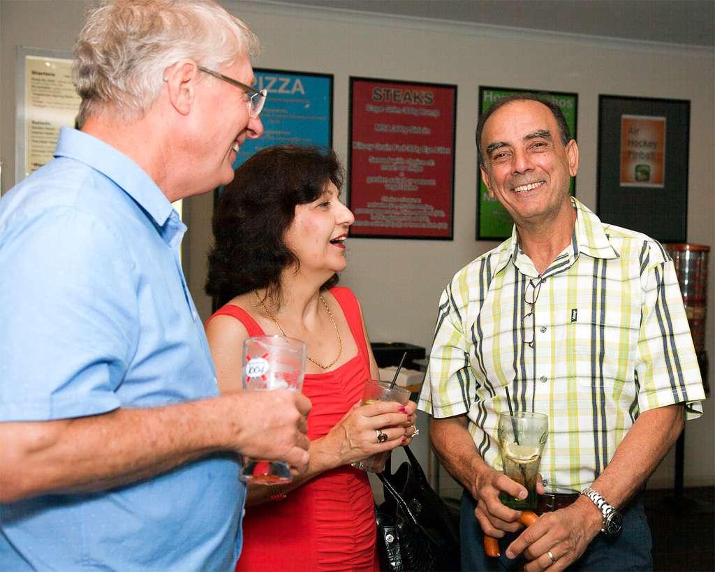 Clive, Maria & Nick