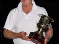 Ken Philp with the ICC Trophy 3428