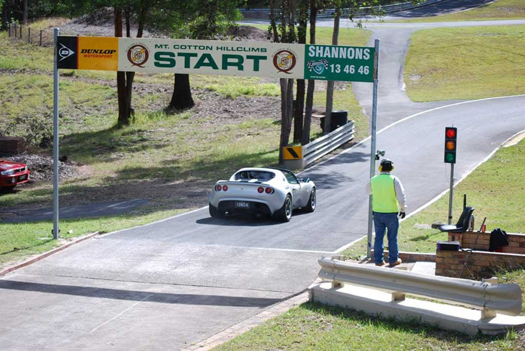 Start_Mt_Cotton_Qld_Hillclimb
