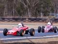 Greg leading in his Lotus 61