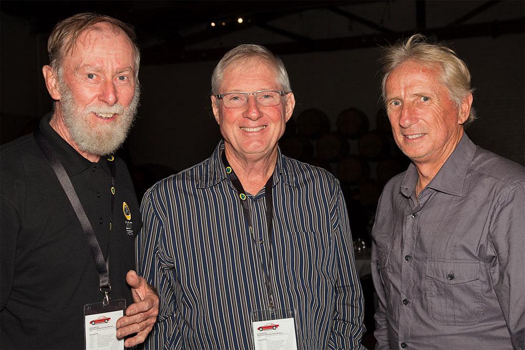 Ian, Clive, Eddie