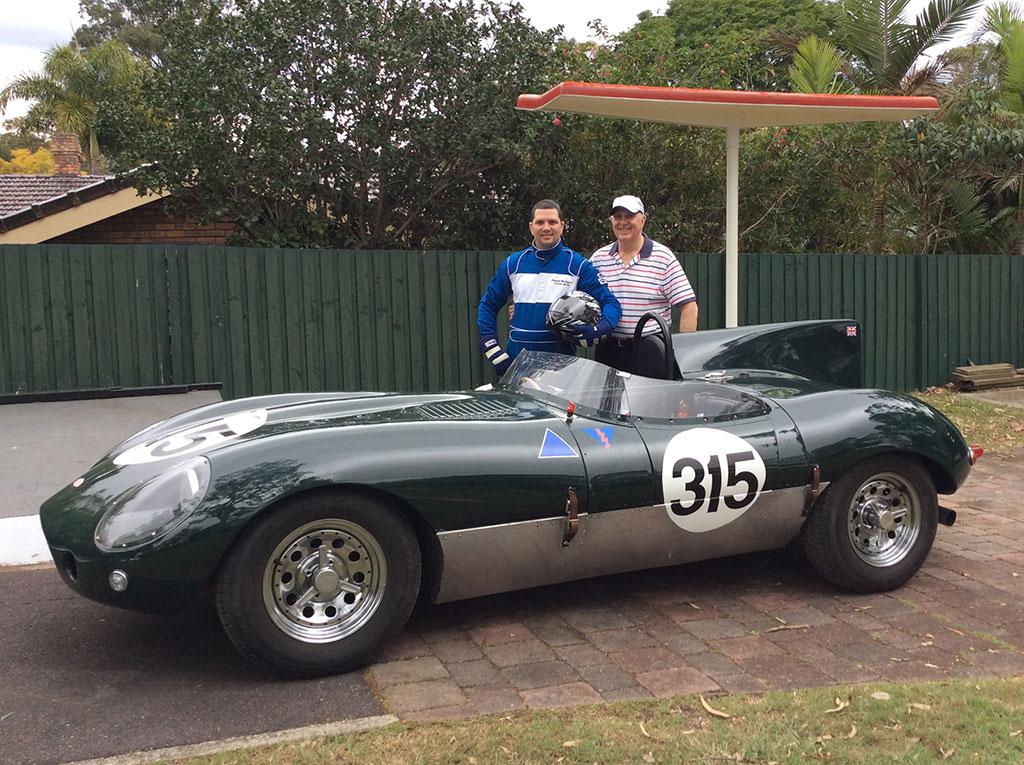 Jaguar-DType-Replica- Mike-and-James