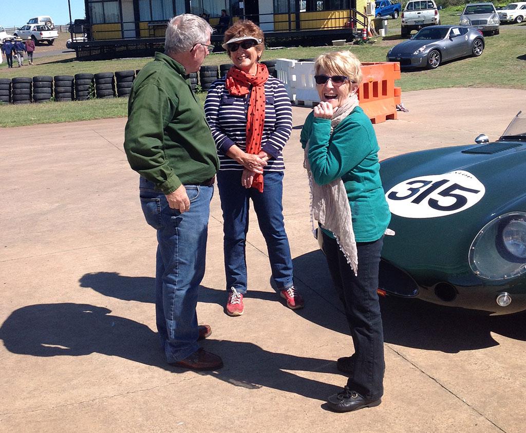 Mal, Moira and Chris