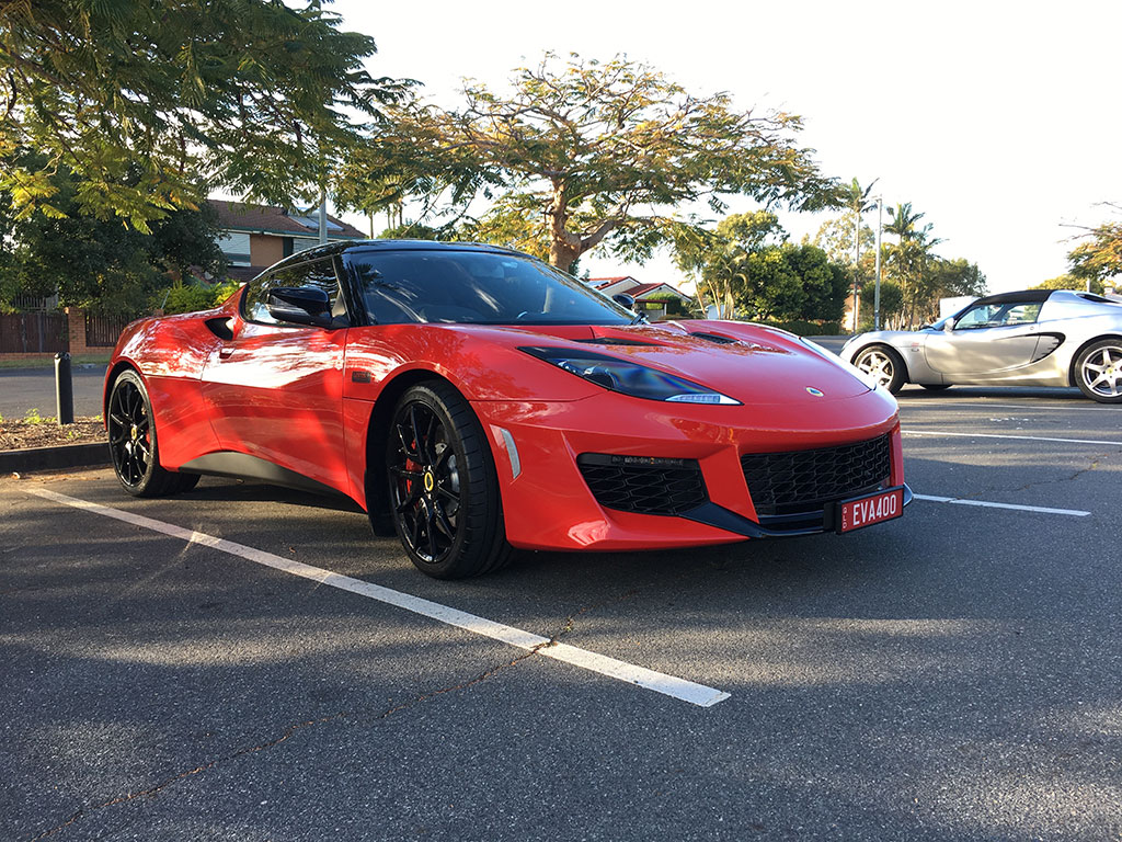 John and Debbie's Evora 1