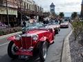 Main street car display