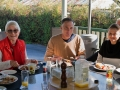 Saturday breakfast with Norma, Steve & Mary-Anne