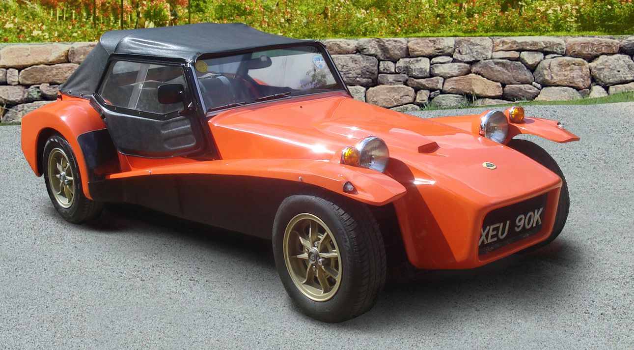Lotus 7 kit car usa - Lotus Seven S4