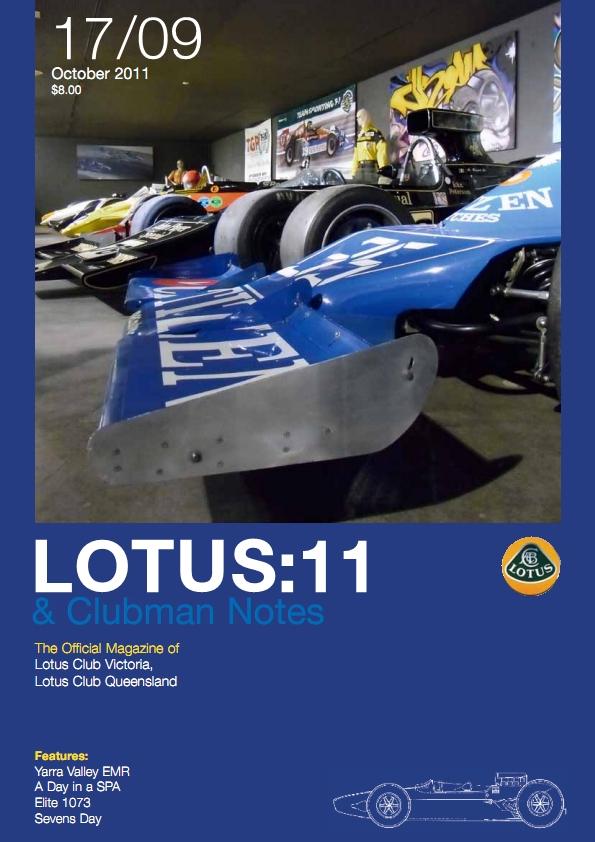 Lotus Mag October 2011