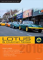 Lotus Magazine September 2016