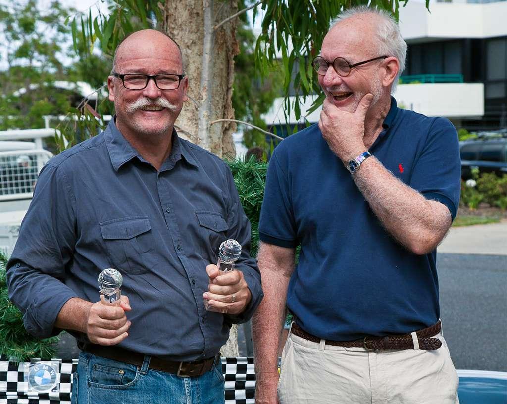 Dick and presenter Ken