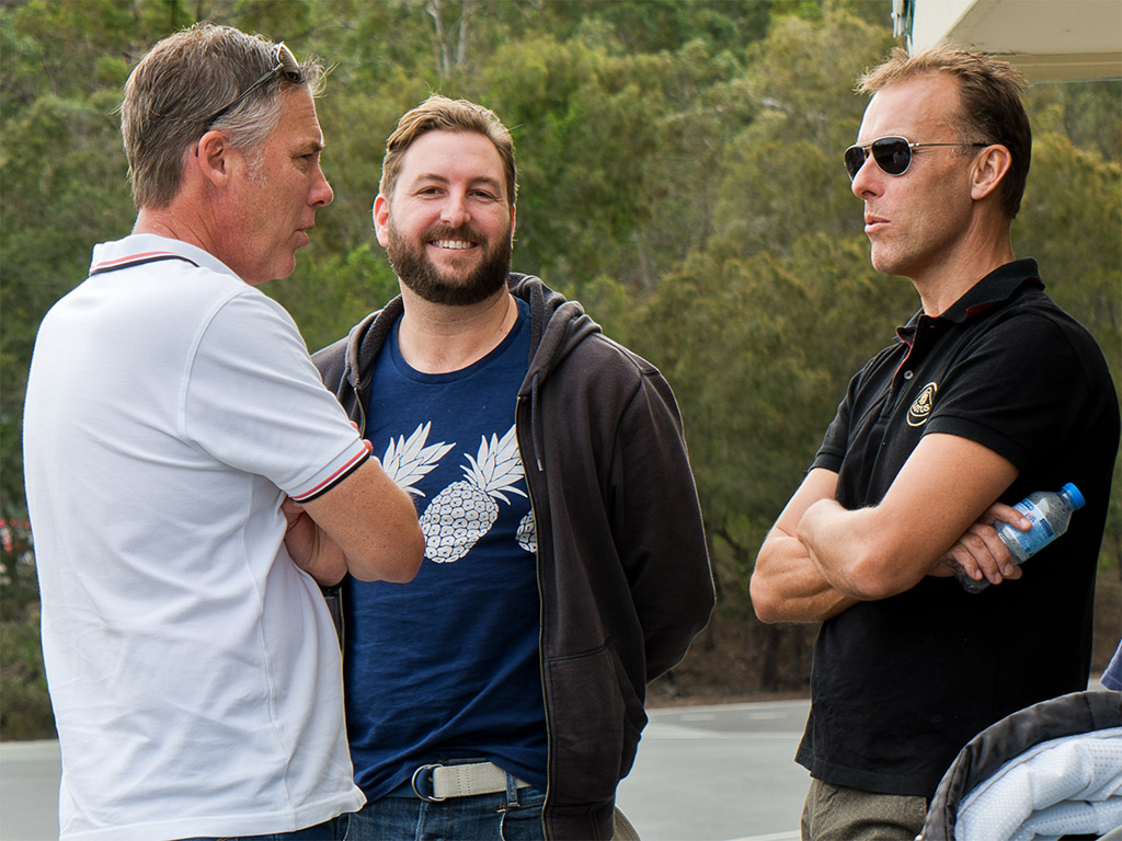 Steve, Scott and Adam