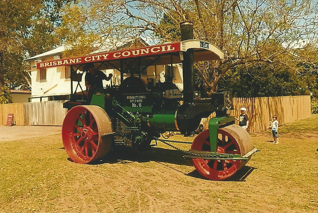 Brisbane City Council Steam Roller