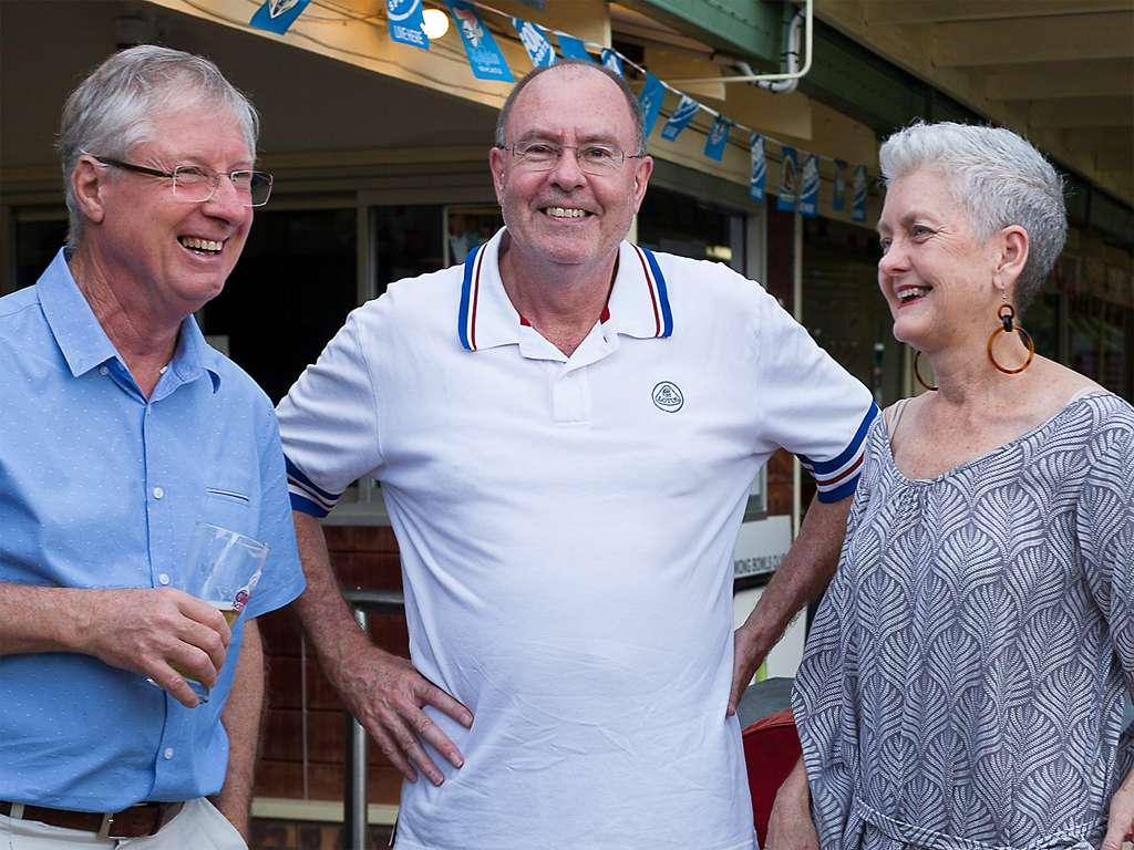 Clive, Shane & Jenny