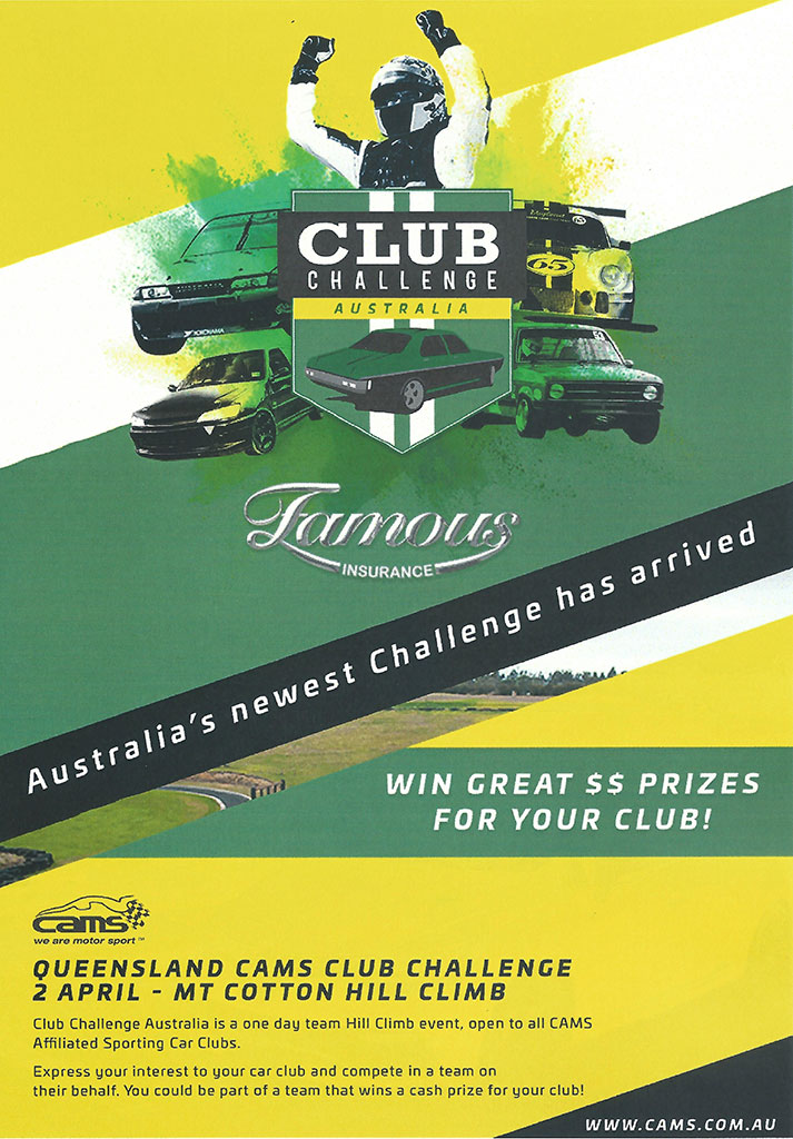 CAMS Club Challenge-poster