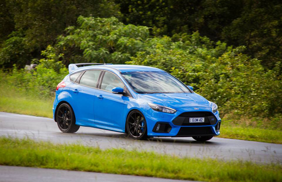Greg McHugh 2017 Ford Focus RS - 1