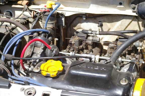 Honda Civic 1600cc motor