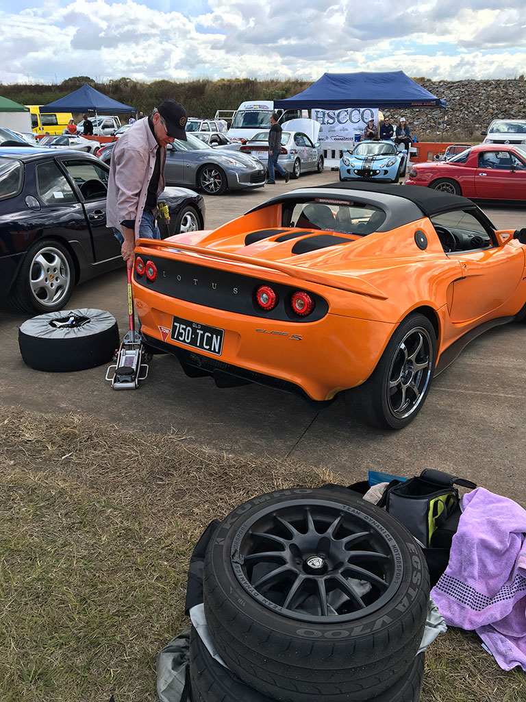 Tyres warmers