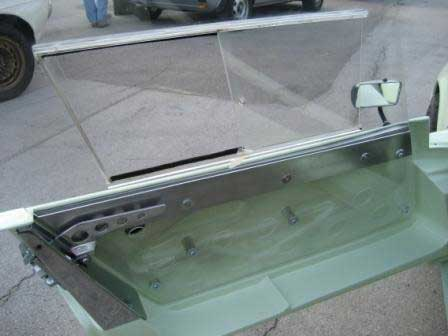 Custom door levers and lexan windows