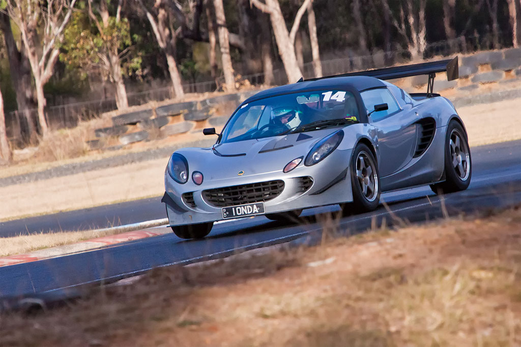 Geoff in his HPE Elise