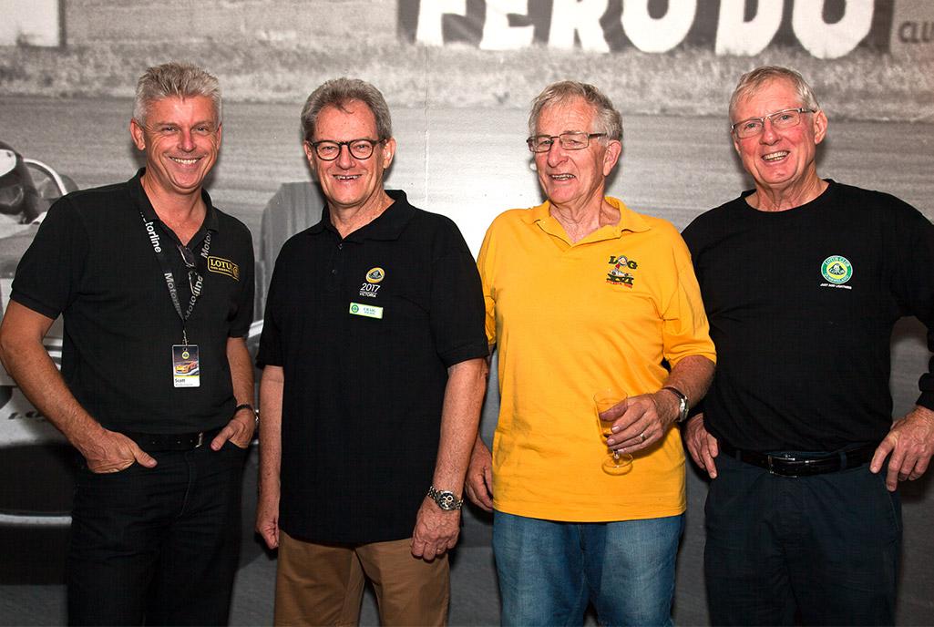 Scott, Craig, Mal & Clive