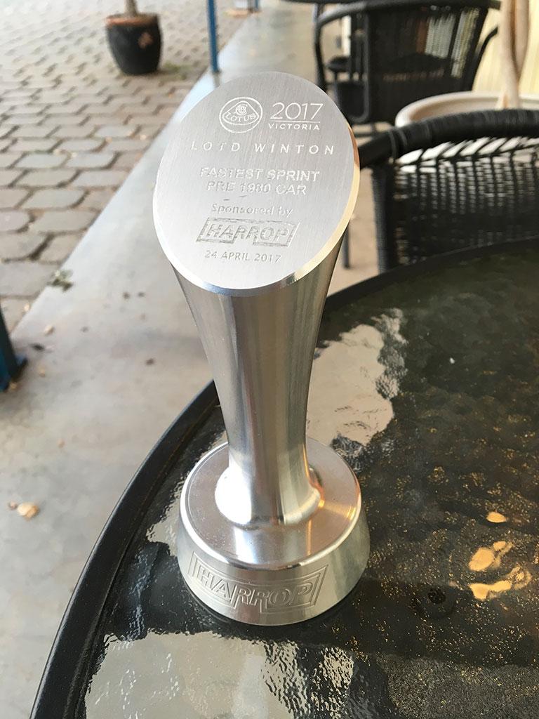 Pre-1980 Winning Trophy