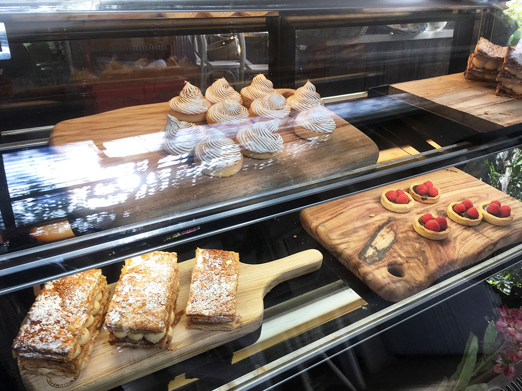 Pastries at Flutterbies