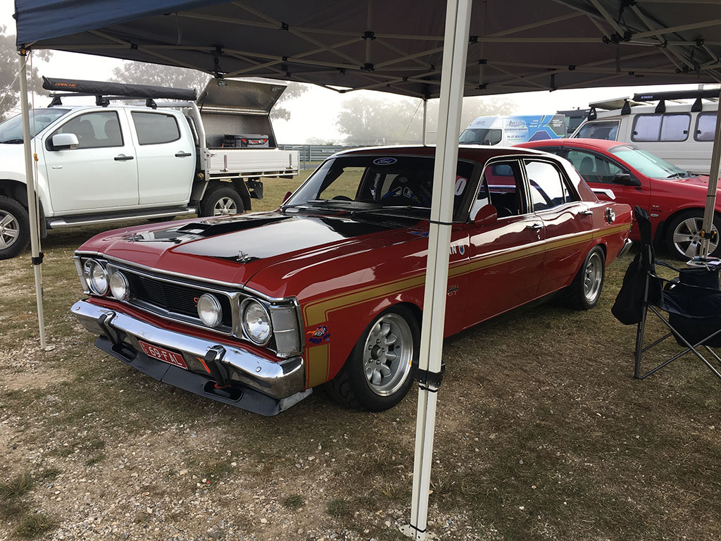 Immaculate 69 GT Falcon