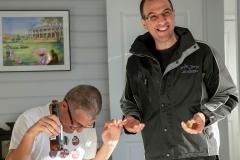 Pato having a laugh on Joe