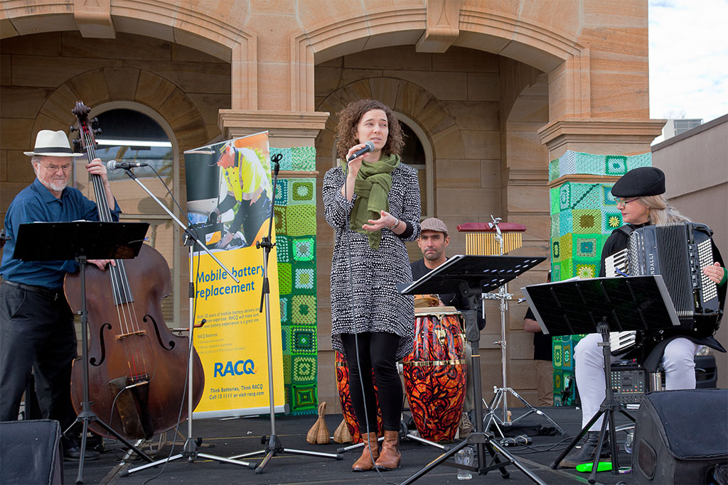 Jazz concert at the Town Hall