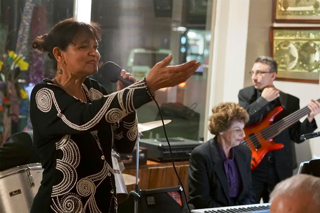 Joie de Vivre owner & singer, Deeny