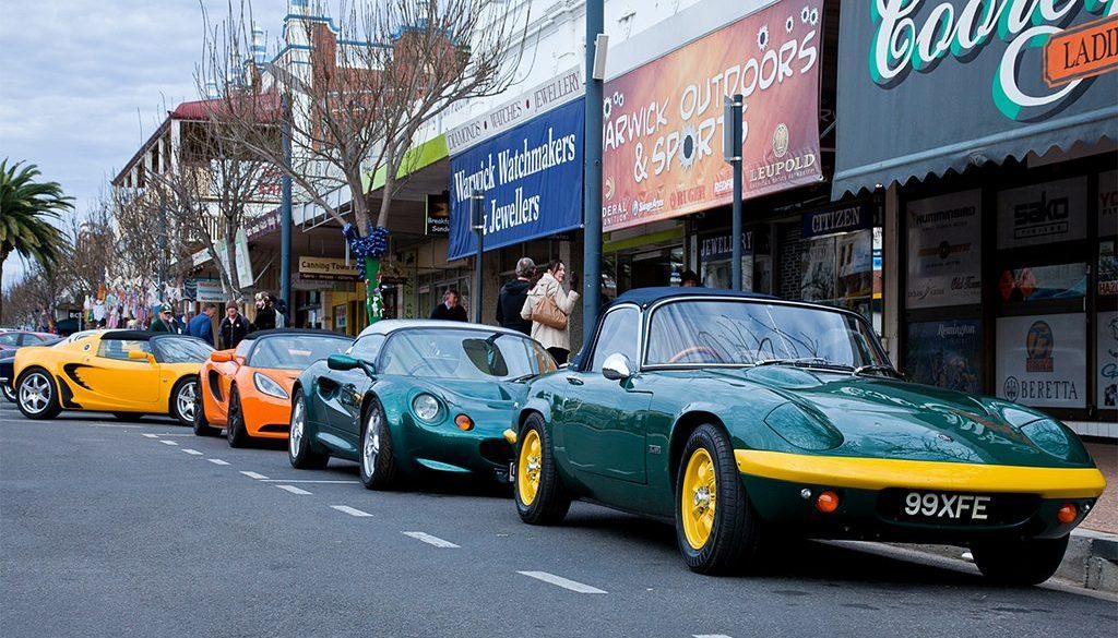 Lotus display in the street