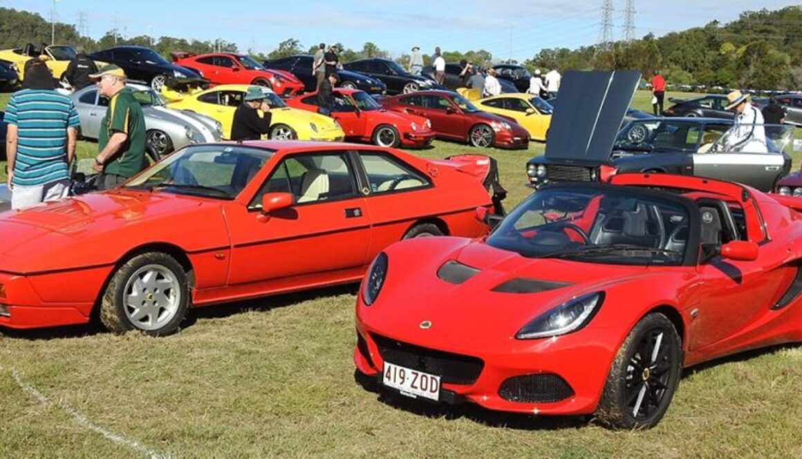 Old and New Excel and Elise 220 Sport