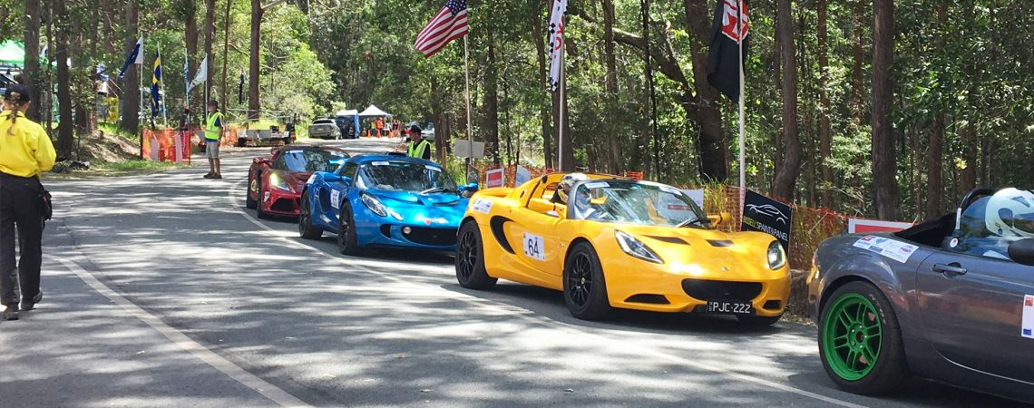 Time 'trials' at Noosa Hill Climb